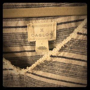Caslon size L linen dress